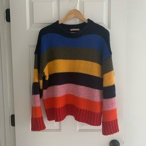 Urban Outfitters Rainbow Stripe Sweater M